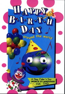 Around the World: Happy Birthday DVD