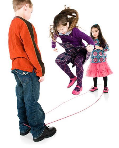 Chinese Jump Rope Playset